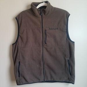 Timberland Fleece Brown and Black Vest